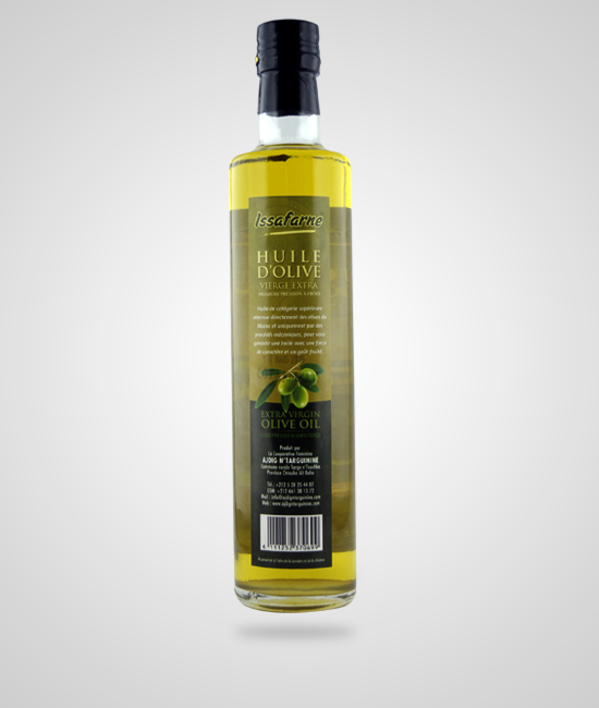 Huile d'olive vierge Issafarne 1l